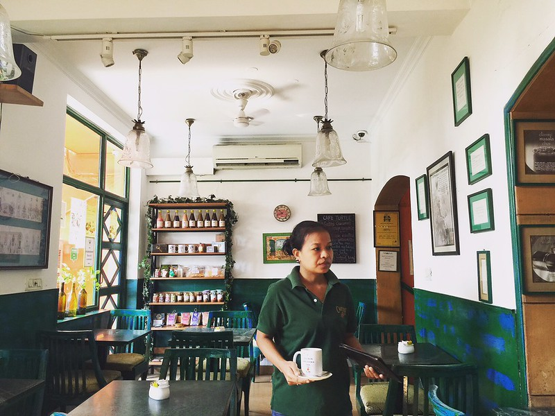 Mission Delhi – Monet Lalparvul, Café Turtle, Khan Market