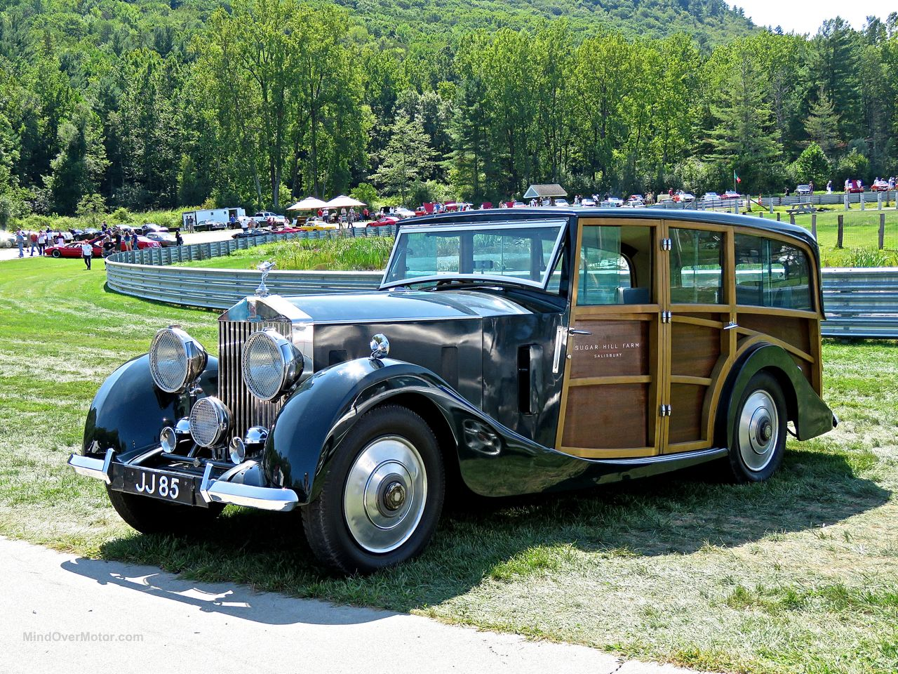 Rolls Royce Woody at Lime Rock