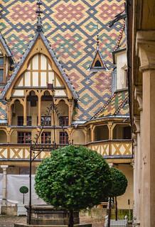 Flügel der Säle 'Sainte-Anne' und 'Saint-Hugues', Hôtel-Dieu, Beaune