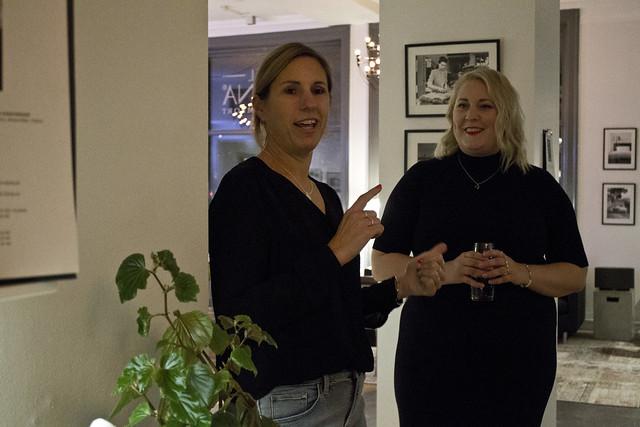 Alexandra Bylund och Linda Hörnfeldt på Better Boggers Meet i Malmö