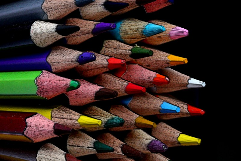 Project 366, Day 330: Coloured Pencils