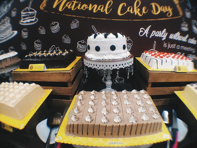 Goldilocks celebrates National Cake Day