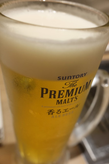 draft beer  プレミアムモルツ生中<香るエールプレミアム> USHIHACHI Kiba 05