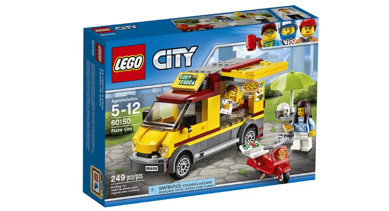 LEGO City Pizza Van (60150)