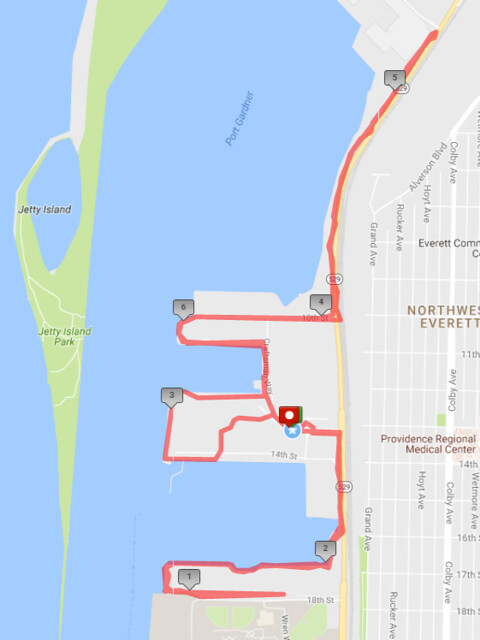 """Yesterday""""s awesome walk, 6.75 miles in 1:56, 13,551 steps"""