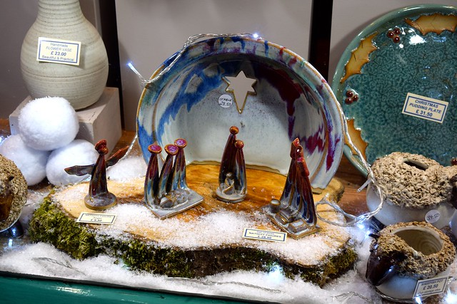 Canterbury Pottery Christmas Windows 2016, Canterbury | www.rachelphipps.com @rachelphipps