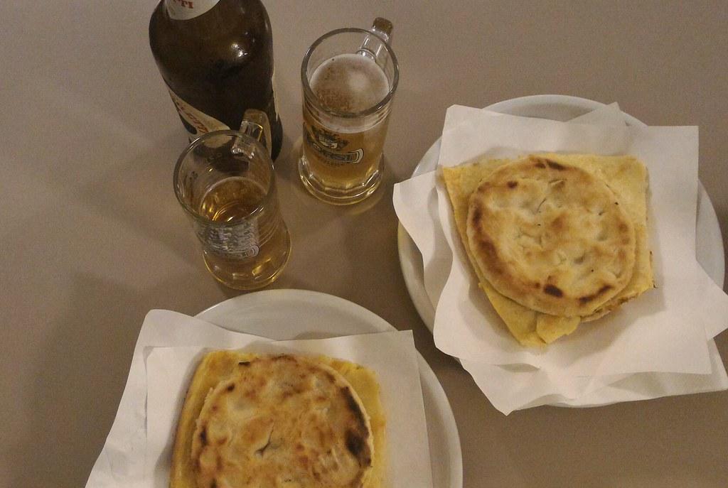 Cecina a Pisa da Pizzeria Nando