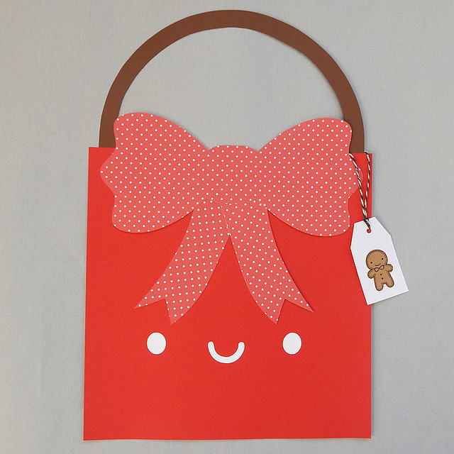 Paper cut Gift Bag for Penny Black