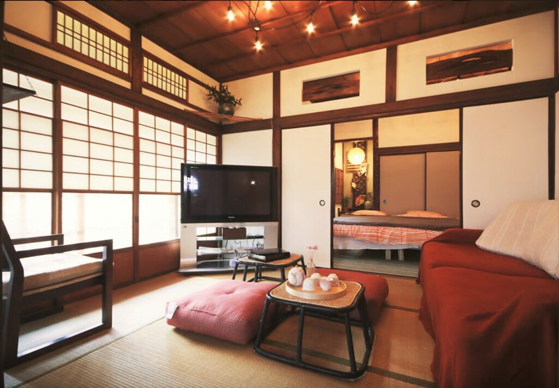 Traditional Japanese House with Garden in Shinjuku, Tokyo