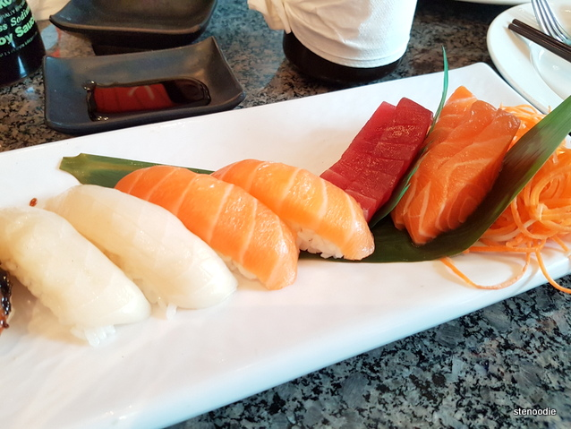 Sushi and Sashimi Combo for 1