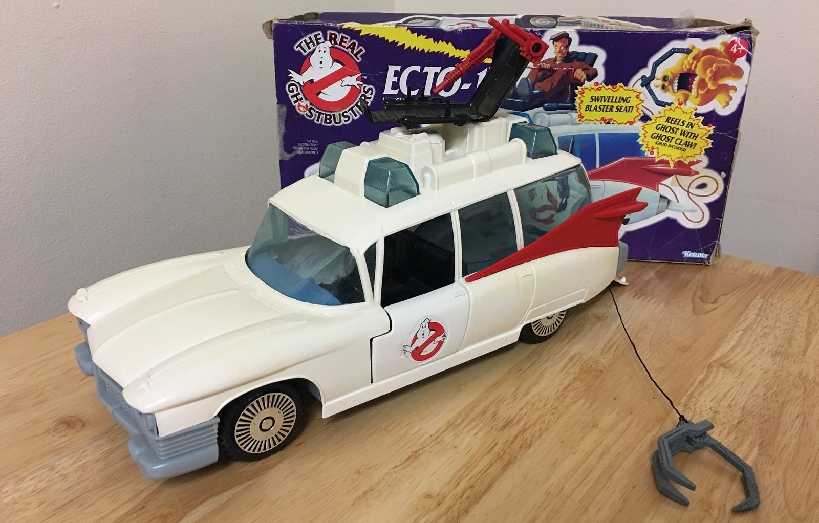 #Fave80sCar Kenner Real Ghostbusters ECTO-1