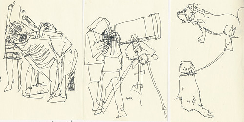 Sketchbook #100: Astronomy Night at School