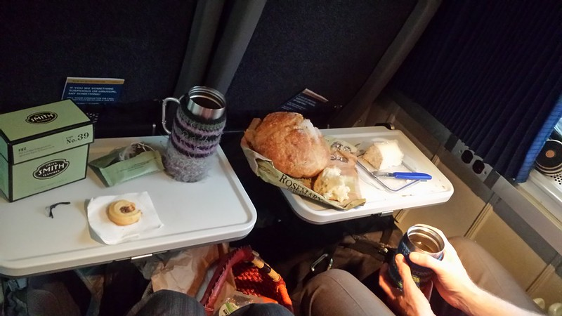 Dining well on Amtrak