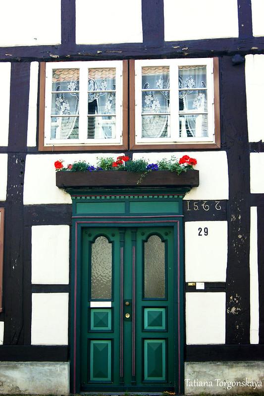 Двери старого дома