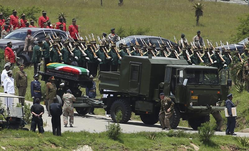 Mandela Burial - Dec 2013