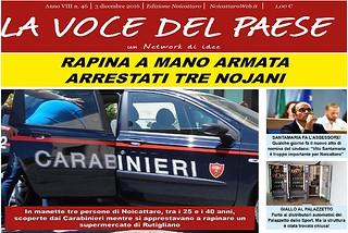 Noicattaro. Prima pagina n. 46-2016 front