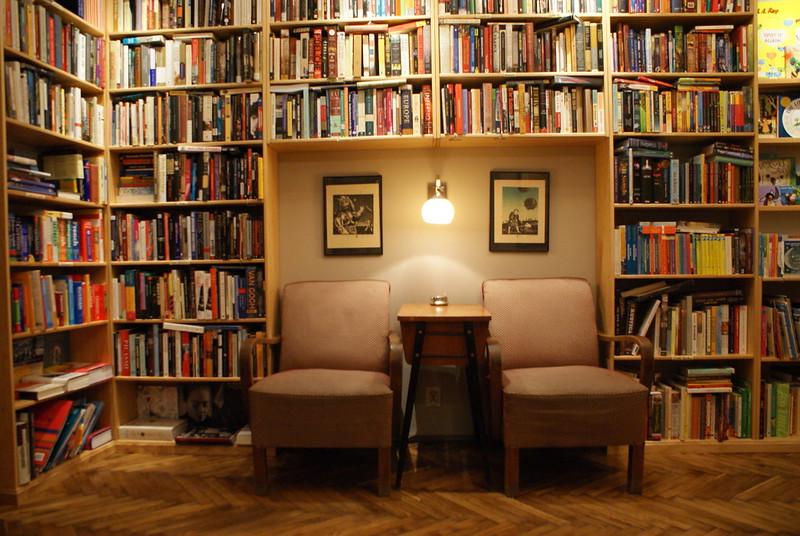 Massolit, librairie extraordinaire et café sympa à Cracovie.