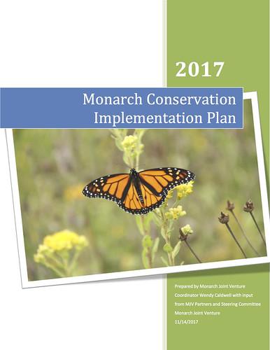 2017 Monarch Conservation Implementation Plan