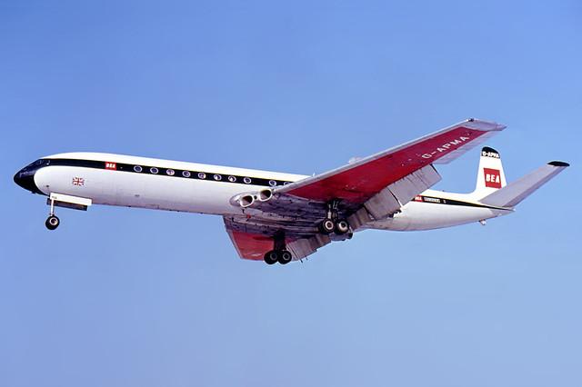 BEA_de_Havilland_DH-106_Comet_4B_Berlin