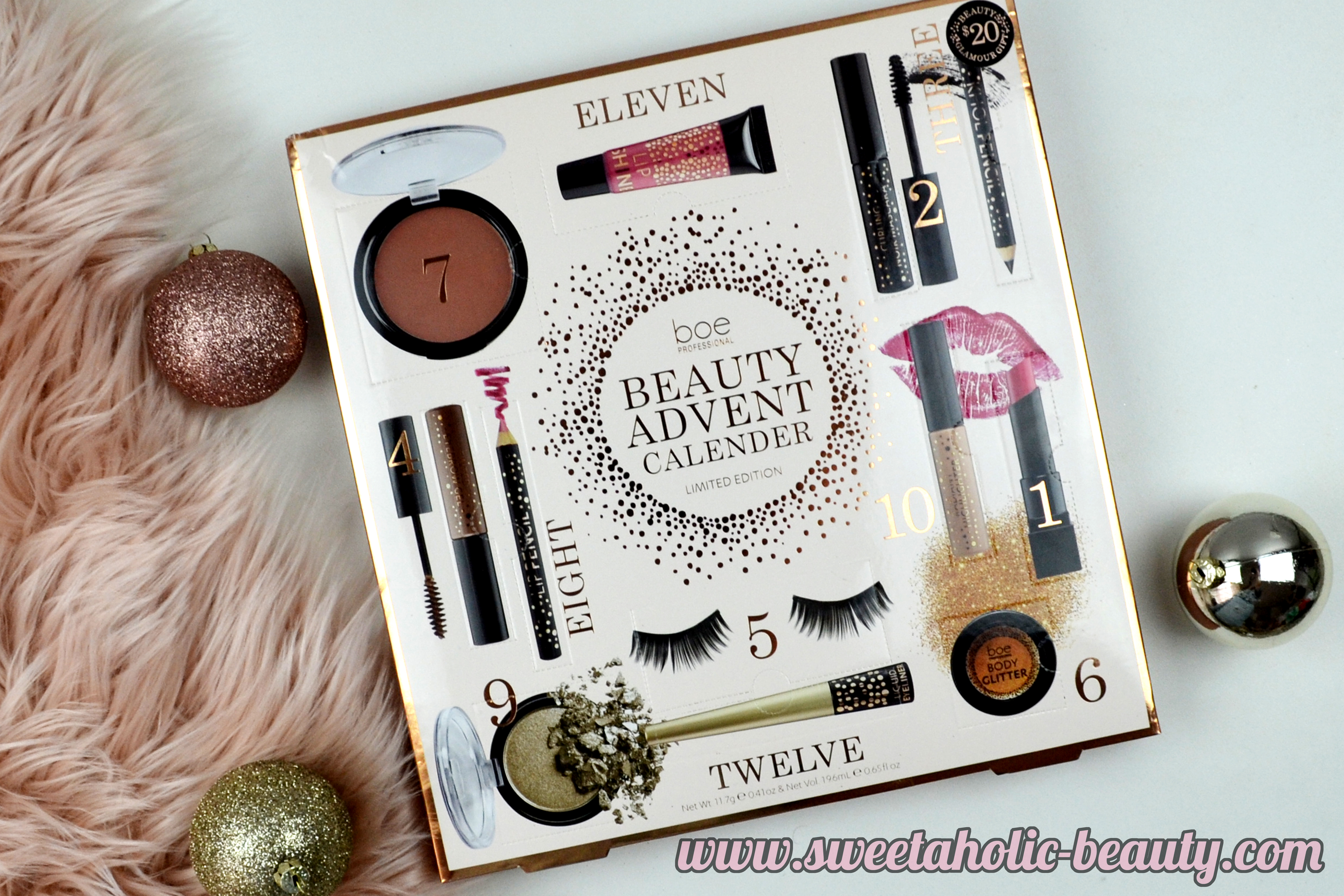 My Beauty Advent Calendars 2016 - Sweetaholic Beauty