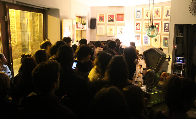 BAR BELMONDO - CONCIERTO DE BLUE LINES & MÓNICA JORQUERA - 29.12.16