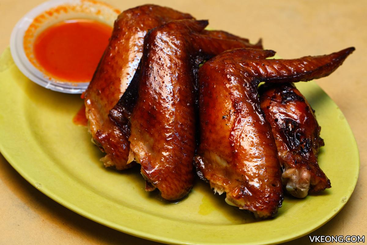 Sai Woo BBQ Chicken Wing Jalan Alor