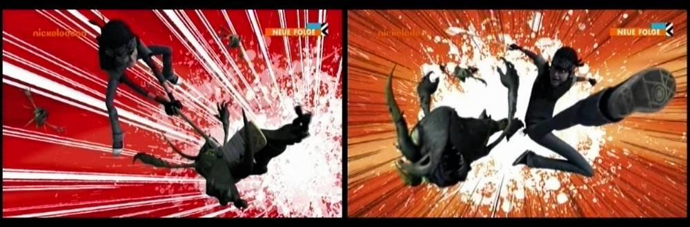 Die Gremlins kassieren Prügel von Casey Jones