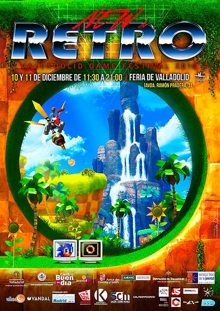 NEW & RETRO Valladolid Game Festival 2016. 10 y 11 de diciembre. Feria de Valladolid.