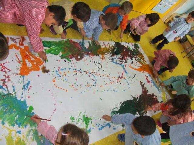 Parada d'art P3 Jackson Pollock