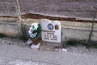 Noicattaro. Lapide Domenico Sozio front