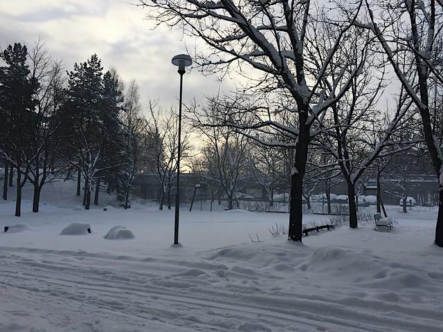 LumiHelsinkiMaisema, view, talvi, winter, suomi, Finland, snowy, luminen, heavy snowfall, runsasluminen, snow, january, tammikuu,