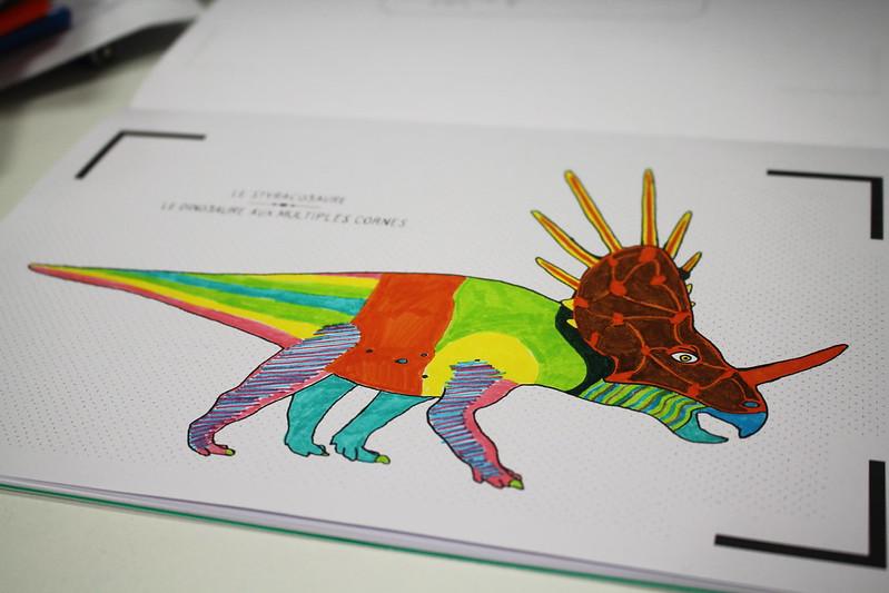 Cahier de dessin animé