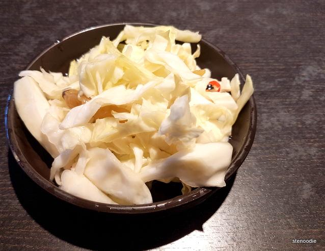 Sichuan kimchi