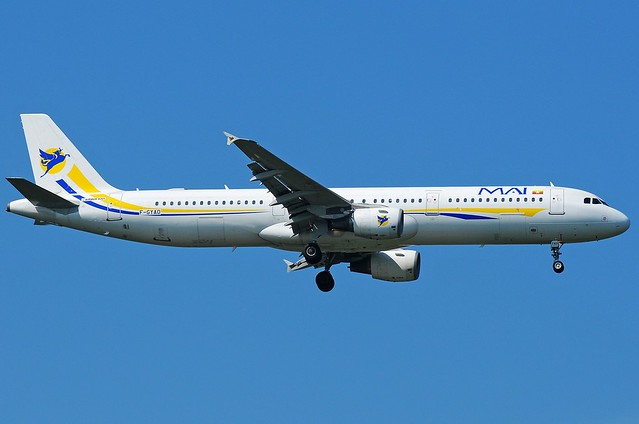 A.321-211 C.n 0642 'F-GYAO' Myanmar Airways International