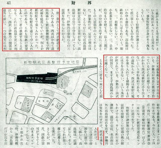 西武新宿線 国鉄新宿駅乗り入れ計画 (15)