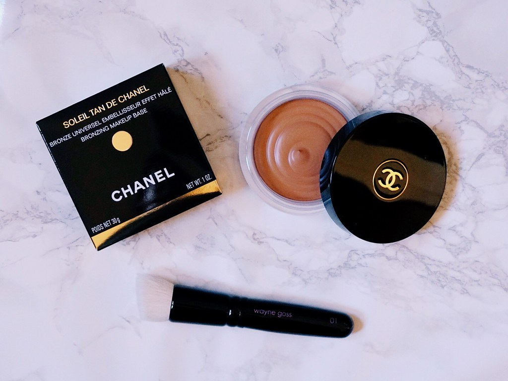 Soleil Tan de Chanel Bronzing Makeup Base nc42 skin review girlandvanity.com