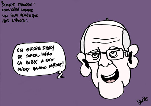 11_Doctor Strange hérétique Pape Francois