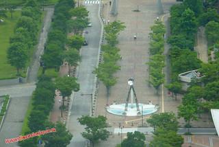 P1060727 Desde la Torre de Fukuoka  (Fukuoka) 14-07-2010