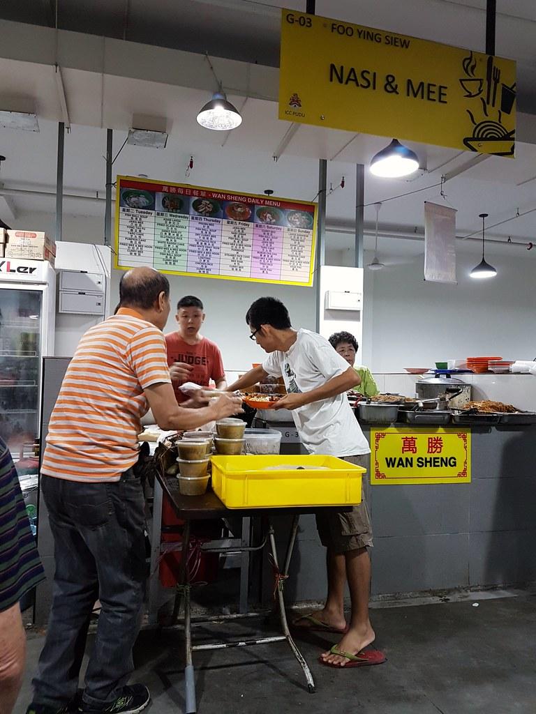 除十五吃斋 at KL ICC 万胜 Wan Sheng vege stall