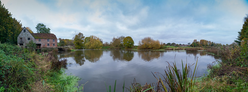 sturminster mill and bridge pano