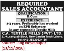 textiles-sales-job