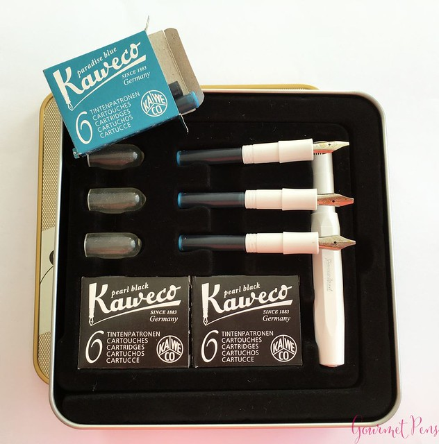 Video Review Kaweco Calligraphy Set - White @JetPens 7