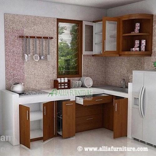 Kitchen set simpel model minimalis untuk rumah dengan desa for Harga kitchen set sederhana