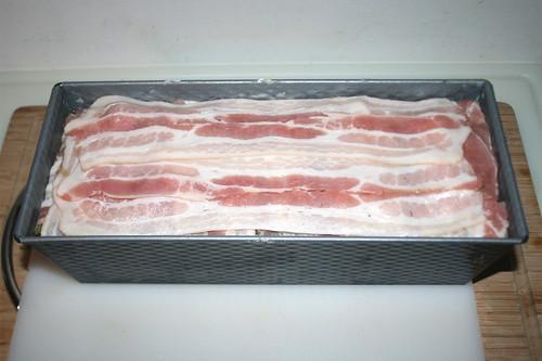 55 - Kastenform befüllt / Loaf pan - filled