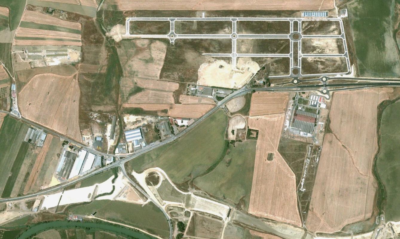 santiponce, sevilla, rotondismos romanos, antes, urbanismo, planeamiento, urbano, desastre, urbanístico, construcción