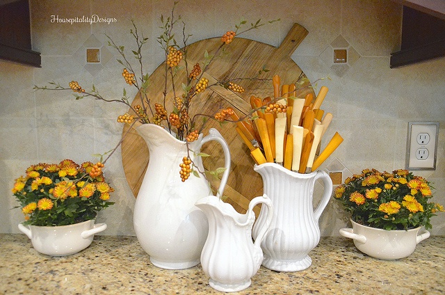 Kitchen Fall Vignette - Housepitality Designs