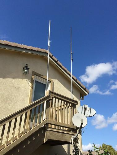 Station W6SAE Antennas