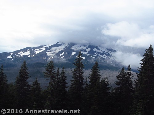 Mt. Hood from the Rockpile, Mount Hood National Forest, Oregon