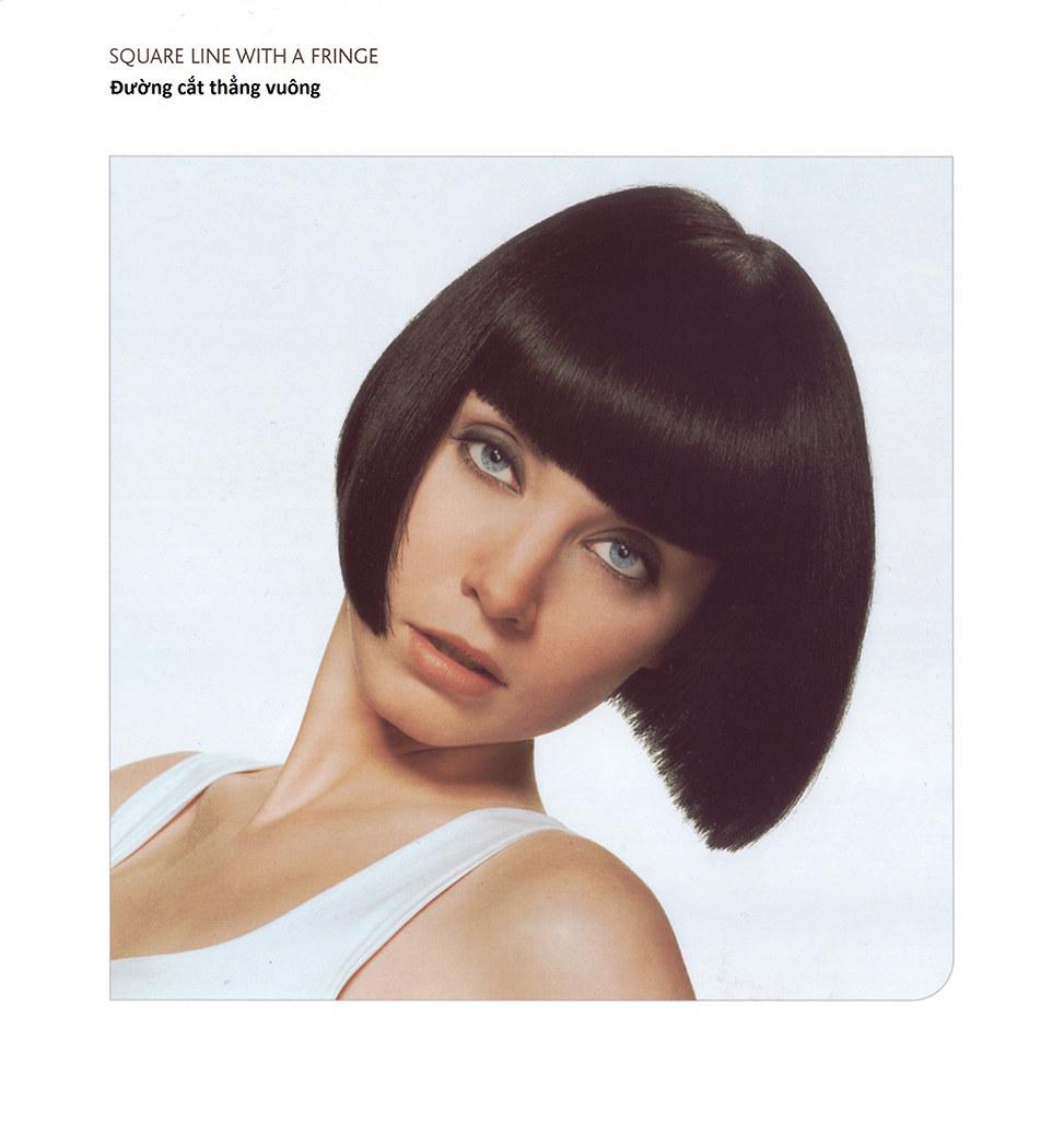 Sơ đồ kỹ thuật cắt tóc