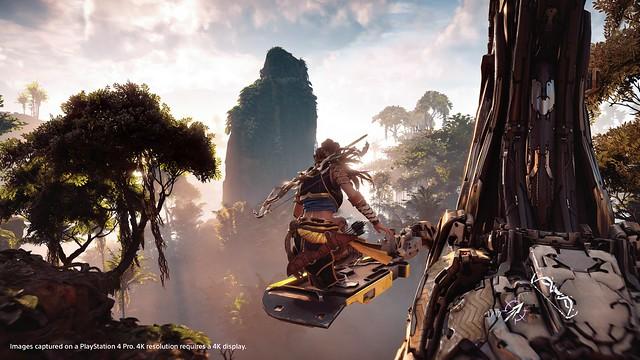 How PS4 Pro Enhances Horizon Zero Dawn – PlayStation Blog